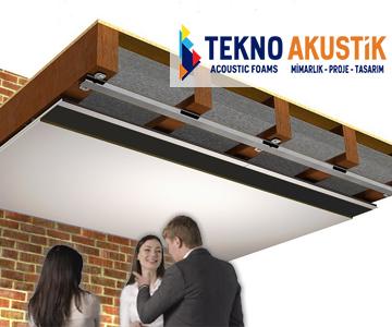 Tavan ses yalıtımı izolasyonu malzemeleri
