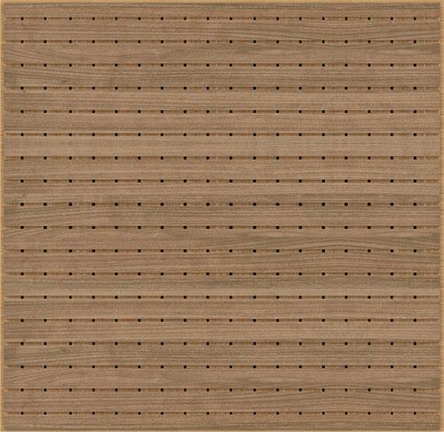akustik ses yutucu ahşap tavan paneli