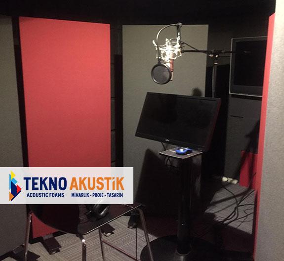 akustik stüdyo paravanı