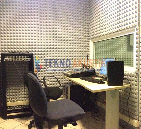 bariyerli akustik ses izolasyon süngeri basotect