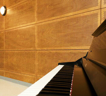 delikli yutucu akustik ahşap panel fiyatları