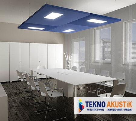 ışıklı akustik tavan paneli fiyatları
