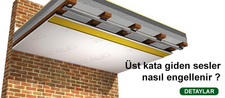 katlar arası tavan ses yalıtımı