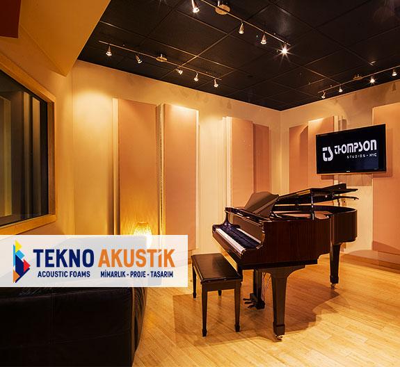 piyano odası akustik ses düzenleme