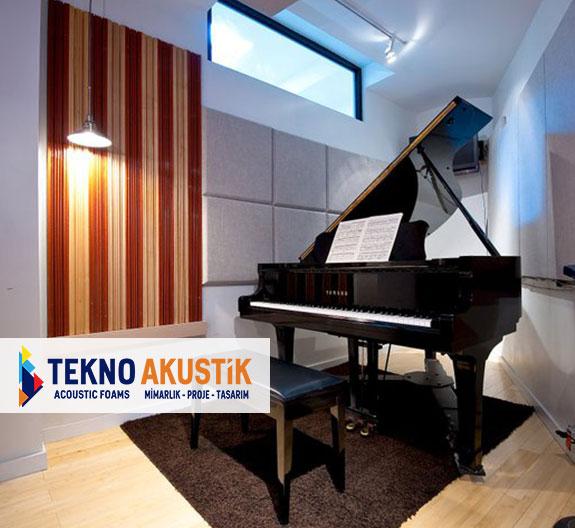 piyano odası akustik ses izolasyon malzemeleri
