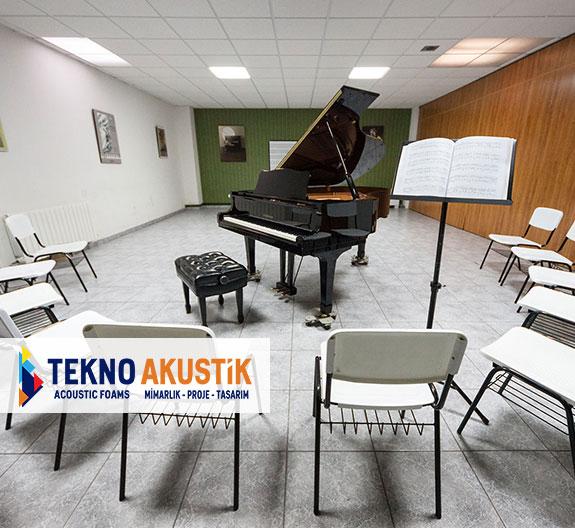 piyano odası akustik ses izolasyonu