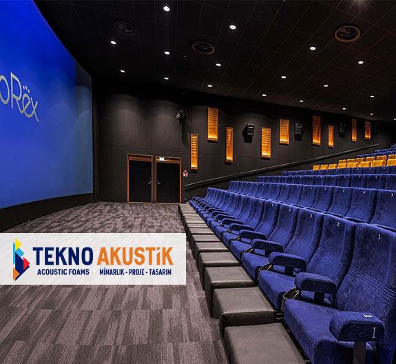 sinema odalarında akustik yalıtım