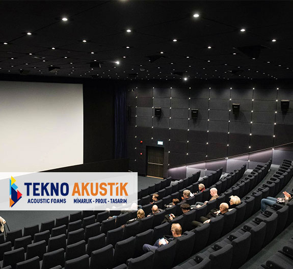 sinema salonu akustik ses yalıtım fiyatları