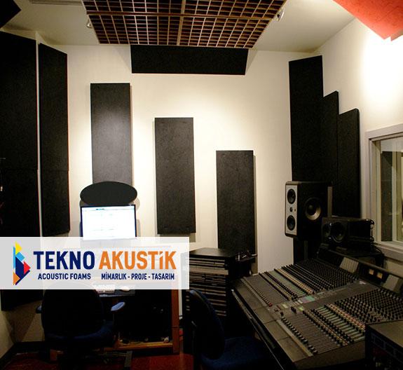 stüdyo salonu akustik ses yalıtımı malzemeleri