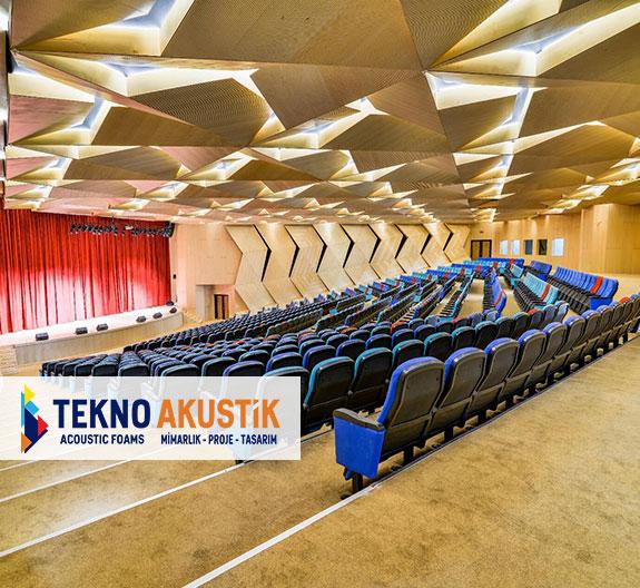 tiyatro salonu akustik düzenleme