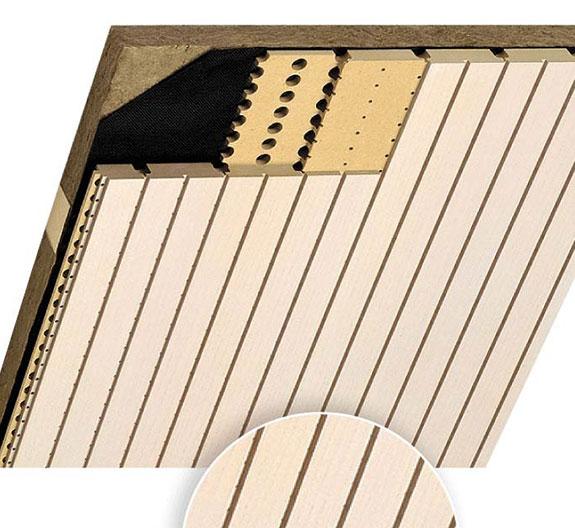 akustik ahşap panel kumaşı soundtex