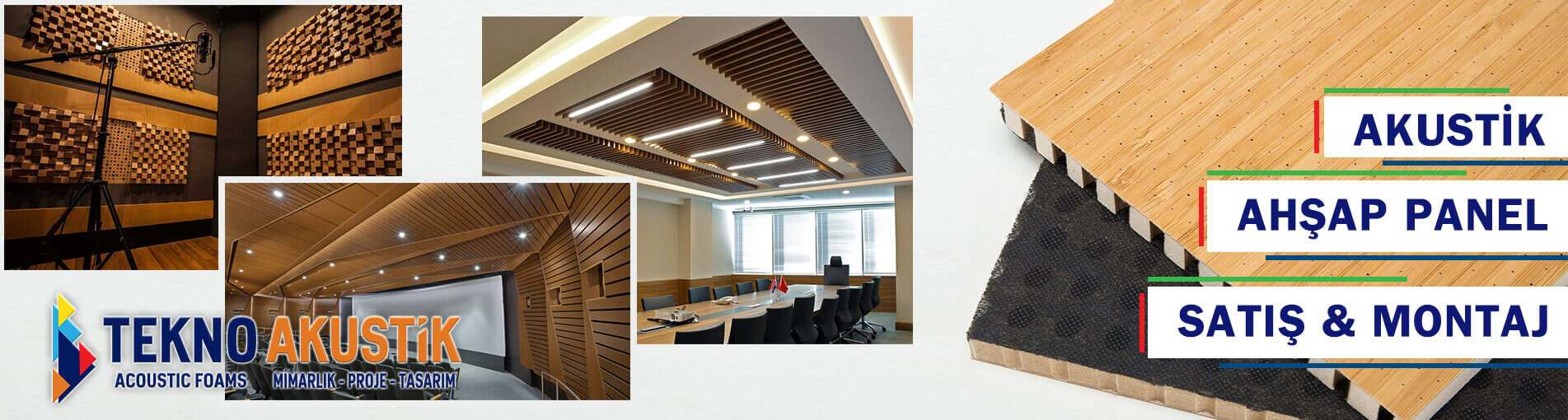 akustik ahşap panel firması