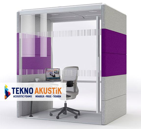 akustik ofis kabini fiyatları