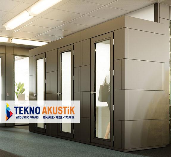 akustik ofis kabini modülleri