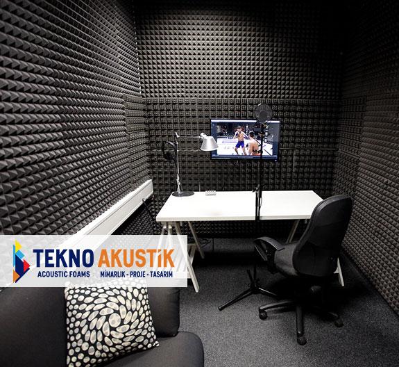 akustik ses kayıt odası yalıtım malzemeleri