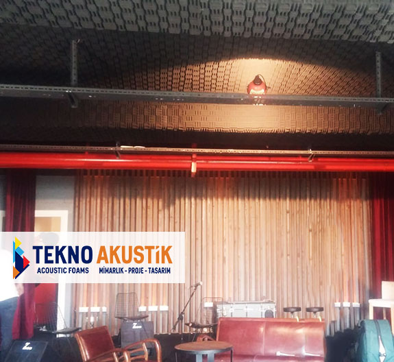 akustik sünger tavan kaplama