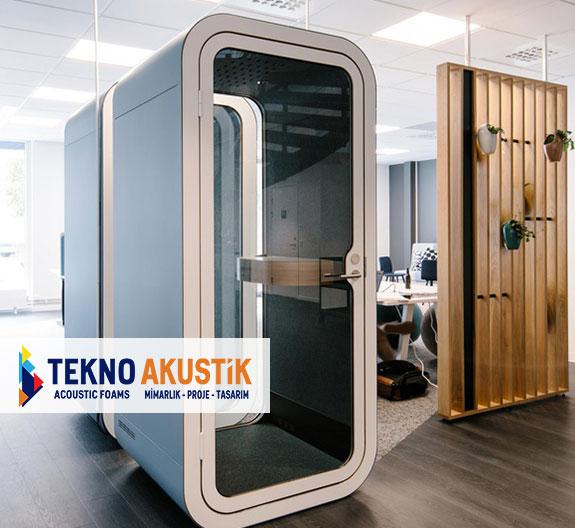 akustik telefon görüşme odası kabinleri
