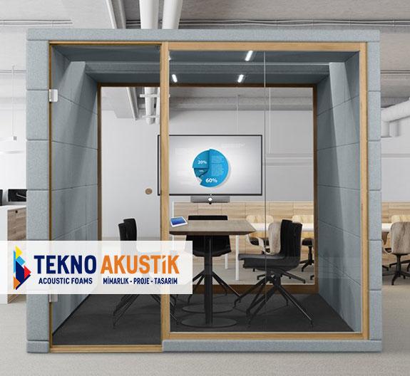 akustik toplantı odası modülleri