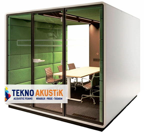 akustik toplantı odası modülü
