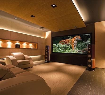 home cinema ses sistemi izolasyonu