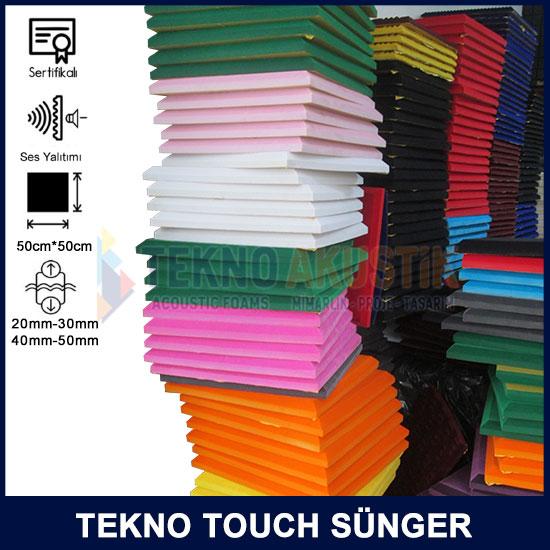 renkli akustik tekno touch sünger