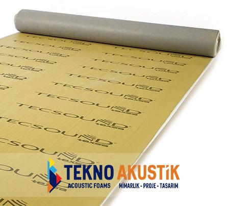 tecsound ses yalıtım bariyeri sound insulation